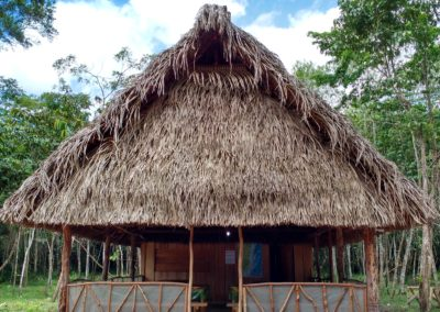 belize hut