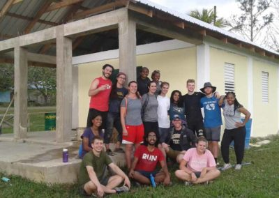 Student Group in Belize